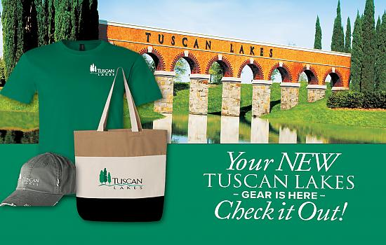 Tuscan Lakes Online Shop Now Open